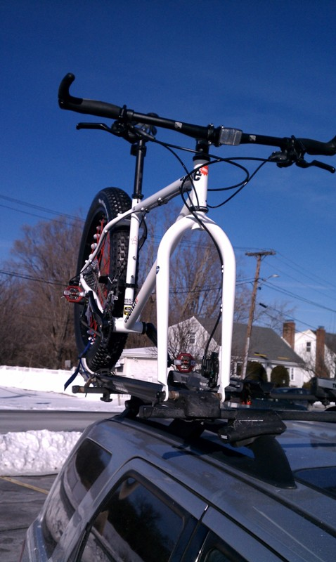 Thule Roof Rack Parts >> Fat Bike Roof Rack Adapter – Bikeway Source / Bell Lap Racing