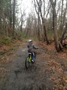 pj jr apirl 2014 riding mud rail trail